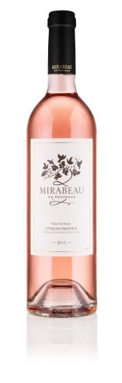 Mirabeau Classic 2015 rose bottle