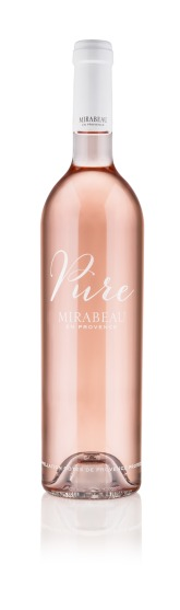 Mirabeau Pure 2015 rose bottle
